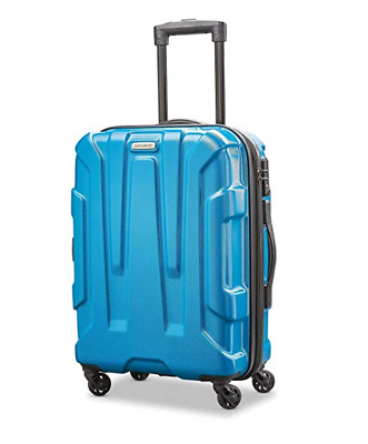 Samsonite Centric Expandable PC Hardside Luggage Spinner Wheels Carry On Blue