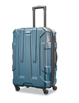 Samsonite Centric Expandable PC Hardside Luggage Spinner Wheels Carry On Teal