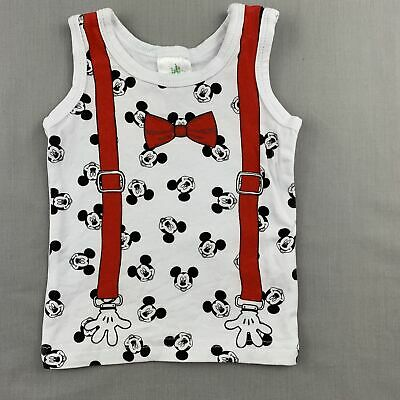 Boys size 0000, Disney Baby, Mickey Mouse tank top / t-shirt, EUC