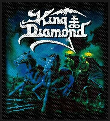 King Diamond - Abigail (New) Sew On Patch Official Band Merch