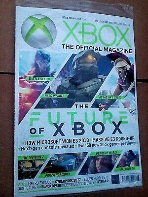 XBOX THE OFFICIAL MAGAZINE #166 Aug 2018 E3 Special + Halo Infinite + Gears 5