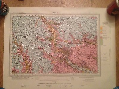 IPSWICH Geological Survey of Great Britain Map drift sheet 207