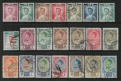 THAILAND SIAM Very Interesting Early All Used Issues Selection (Aug 070)