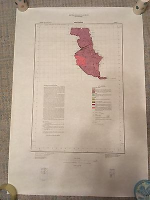 KIRKMAIDEN Geological Survey Map 1:50000 solid sheet 1