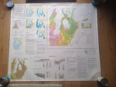 CLYDE British Geological Survey Map 1:250000 UTM Series Flat