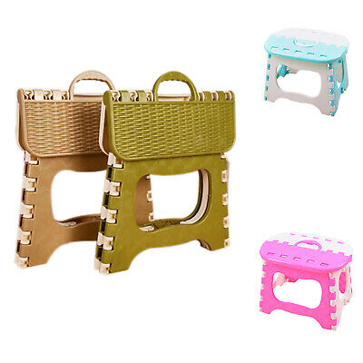 Plastic Folding 6 Type Thicken Step Portable Child Stools M6E2