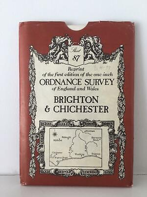 Reprint Victorian Edition of Ordnance Survey Map Brighton and Chichester VGC