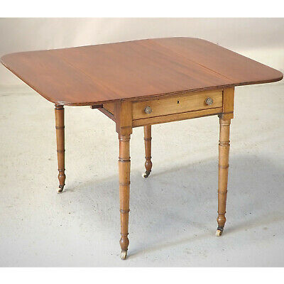 Antique Drop Leaf Table (delivery available) Mahogany C1830