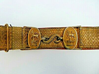 Victorian Royal Artillery Officers Dress Belt