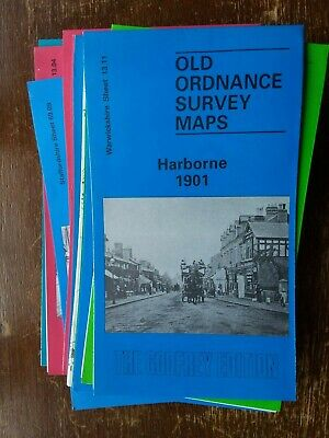 Old Ordnance Survey Map Harborne 1901