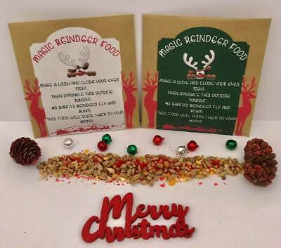 Eco Magic Reindeer Food Magical Christmas Eve Santa Dust Kids Activity Tradition