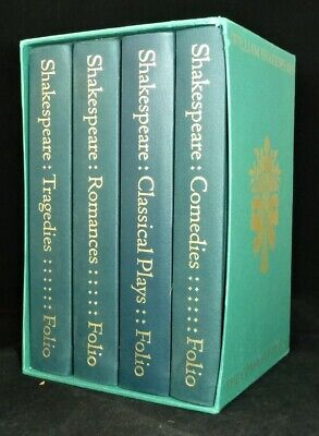 FOLIO SOCIETY. William Shakespeare 8-volume set in slipcases 1997/98