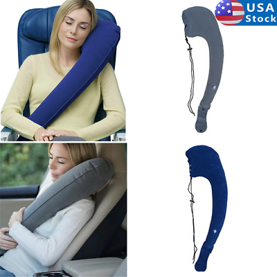 Travel Pillows for Airplanes Portable Inflatable Travel Pillow & Neck Pillow US