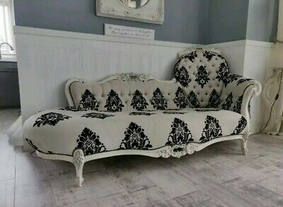 🌺Victorian Solid Mahogany Chaise🌺