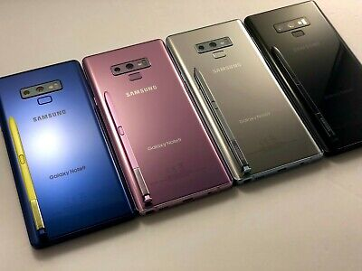 Samsung Galaxy Note 9 N960U 128GB AT&T/T-MOBILE/CRICKET/METRO GSM UNLOCKED