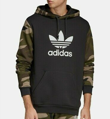 Adidas Originals Mens Camo Hoodie Pullover Sweater NWT