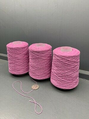 670G Pink Mix 2/17Nm 100% Lambswool Yarn One Off