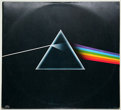 Pink Floyd The Dark Side Of The Moon vinyl LP Gatefold Album Early press A3 / B3