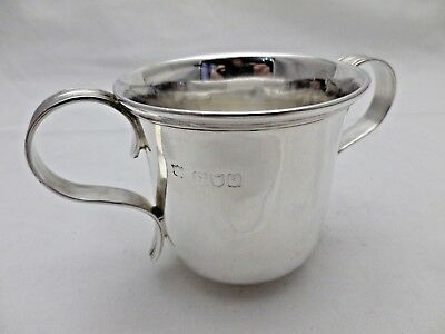 Antique Sterling Solid Silver Two Handled Porringer 1896 (1053-B-SLY)