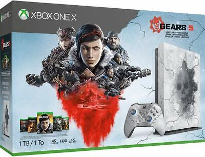 Xbox One X 1TB Console Gears 5 Limited Edition Bundle Pre-Order