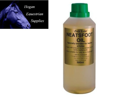 Gold label neatsfoot oil various sizes leather care
