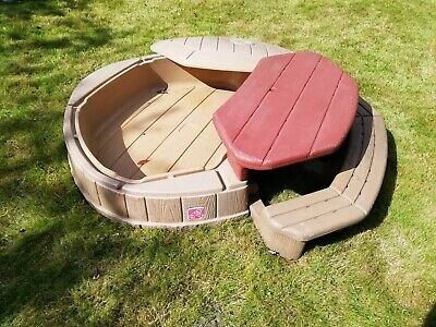 Step 2 Toddler Sandbox Paddling Pool With Table Bench And