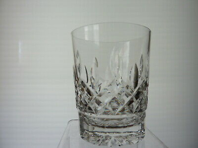 """Waterford Lismore Double Old Fashioned Glass Tumbler 4 3/8"""" Tall"""