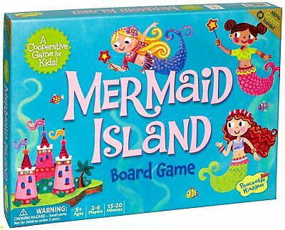 Peaceable Kingdom - Mermaid Island Board Game