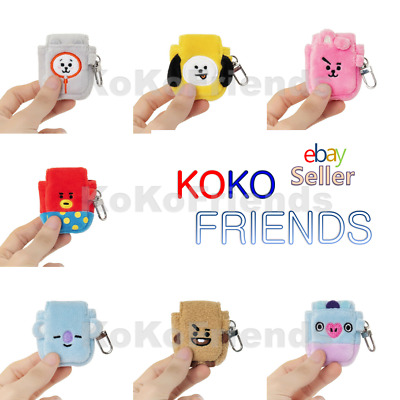 BTS BT21 Official Plush Doll Airpod Case Cover Authentic KPOP Merch Character MD