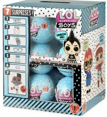 Lol Surprise! Boy Series Dolls! Blue Ball New 2019 Real Authentic! In Hand!!