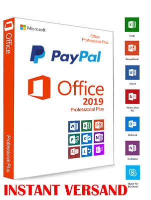 Microsoft Office 2019 Professional Plus Vollversion  Express-Versand