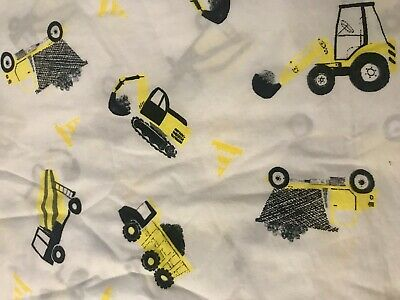 Adairs Kids Cot Sheet Set Constuction USED ONCE