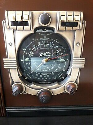 Antique ,vintage, Deco ,collectible - Old Tube Radio Zenith Ch 5649 Restored