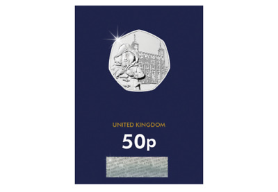 Paddington at the Tower of London Brilliant Uncirculated 50p Fifty Pence Coin
