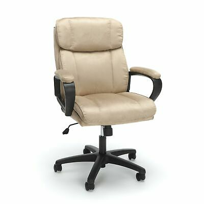 Essentials Executive Chair - Mid Back Office Computer Chair ESS-3082-TAN