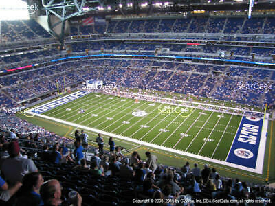 2 Cleveland Browns Indianapolis Colts Tickets 8/17 3rd Row Terrace Aisle Lucas