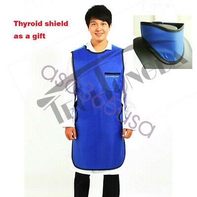X-ray Lead Radiation Protection Apron Thyroid Collar L Size Hospital Medical New