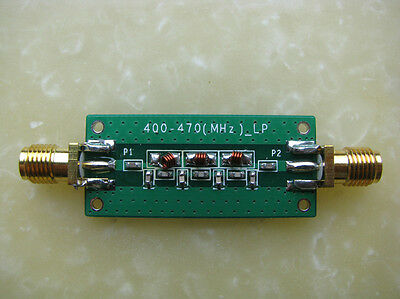 New 400-470Mhz 433Mhz Low-pass Filter LPF SWR <1.22 Free Shipping