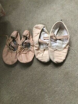 Girls Ballet Shoes Dance Size 11 And 8