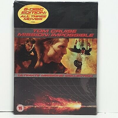 Mission Impossible: Ultimate Missions Collection (5 Disc Box Set)... - DVD YEVG