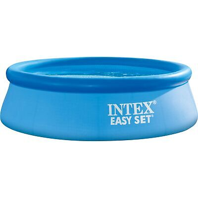 Intex Easy Set Pool 128120NP, Ø 305cm x 76cm, Schwimmbad, hellblau