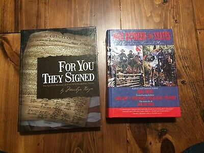 For You They Signed ( by Marilyn Boyer) & The War Between The States