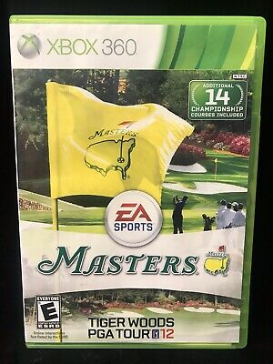 Tiger Woods PGA Tour 12: The Masters (Microsoft Xbox 360, 2011)