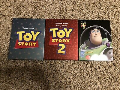 Disney's Toy Story 1 2 3 Trilogy (Canada) Futureshop Exclusive Ironpack Steel