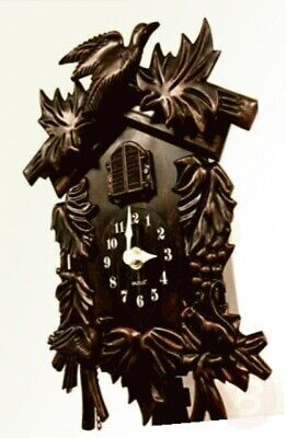 WC2070 - Walplus Black Forest Cuckoo Clock Walplus Antique Hamburg Black ...