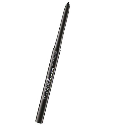 "Maybelline ~ Master Liner ~ Creamy Eyeliner Pencil ~ ""Black"" ~ New ~ Rrp $12.95"