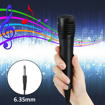 Paar professionelle Handheld Wired Dynamisches Mikrofon Audio Karaoke Party Musi