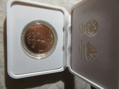 2000 Olympic Gold Coin Series  Medallion     Boxed