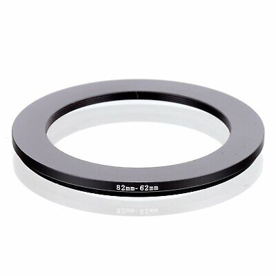 82-62 82mm to 62mm 82-62mm Matel Step-down Stepping Down Ring Filter Adapter