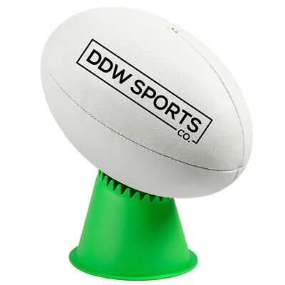 NRL SUPER TEE - VOLC Kicking Tee In Green From SUPERTEE Rugby League Football
